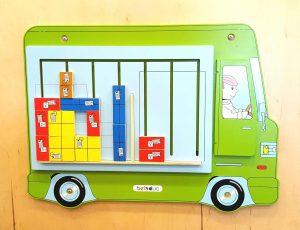 panou de joaca din lemn pentru copii la Yellow Place sector 3 Bucuresti